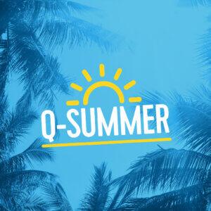 Qmusic Q-Summer logo