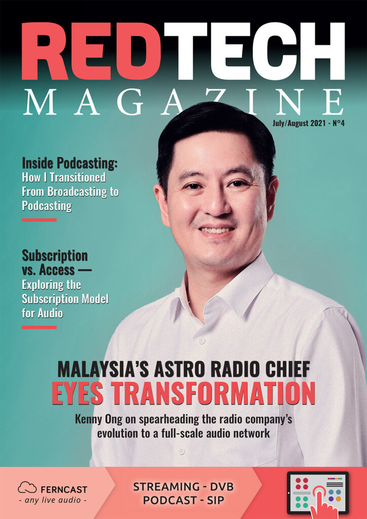 RedTech Magazine July-Aug 2021 cover